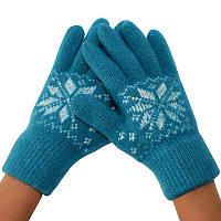 Женские зимние перчатки 01