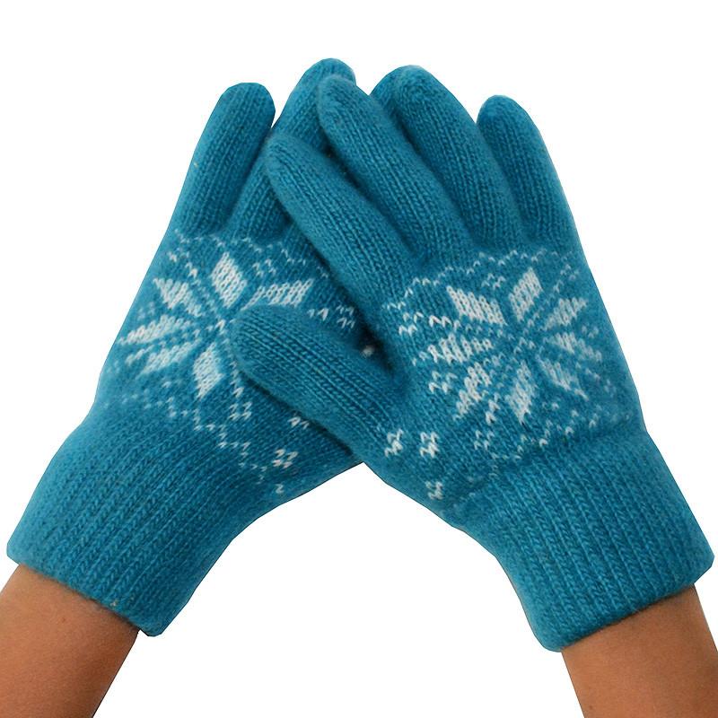 Женские зимние перчатки 07