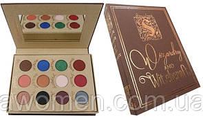Тени для глаз Storybook Cosmetics Wizardry and Witchcraft Eyeshadow Palette (12 цветов)