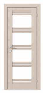 Angela  Двери межкомнатные Двери с ПВХ покрытием стекло сатин