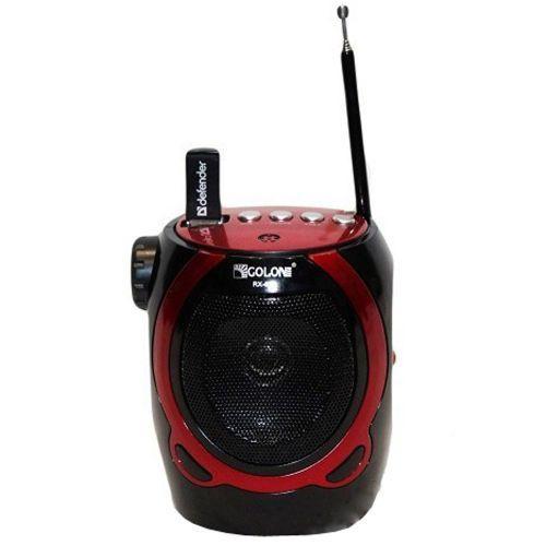 Портативная колонка радио караоке MP3 USB Golon RX-902AUT Black