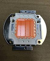 Фито светодиод матричный СОВ SL-30F 30W full spectrum led  PREMIUM (45Х45 mil) Код.59120
