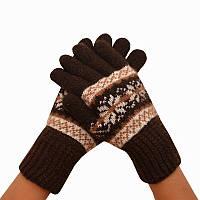 Женские перчатки, удлиненные 003