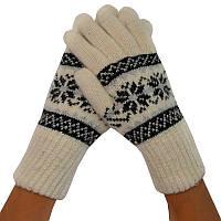Женские зимние перчатки, удлиненные 004, фото 1