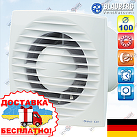 Вентилятор с таймером и шнурком Blauberg Bravo 100 ST, фото 1