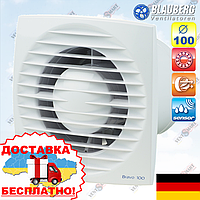 Вентилятор с датчиком влажности Blauberg Bravo 100 H, фото 1