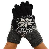Мужские зимние перчатки 01, фото 1