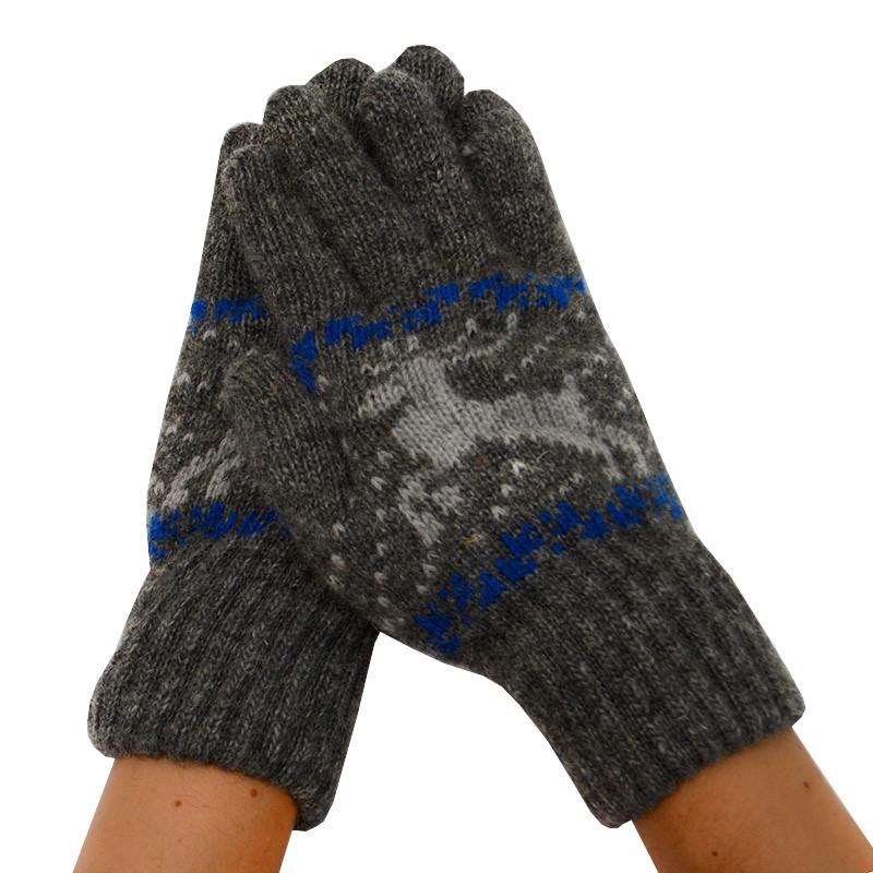 Мужские зимние перчатки 07