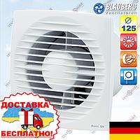 Вентилятор вытяжной со шнурковым вкл. Blauberg Bravo 125 S, фото 1