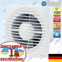 Вентилятор с таймером и шнурком Blauberg Bravo 125 ST, фото 1
