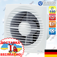 Вентилятор вытяжной со шнурковым вкл. Blauberg Bravo 150 S, фото 1