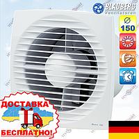 Вентилятор вытяжной с таймером Blauberg Bravo 150 T, фото 1