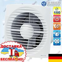 Вентилятор с таймером и шнурком Blauberg Bravo 150 ST, фото 1