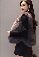 Женская меховая жилетка. Модель 61733, фото 5