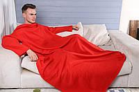 Пледы с рукавами из флиса (мужской) Красный