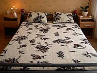 Шерстяное одеяло, 2х1,6 м. Клетка, фото 1