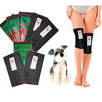 Наколенники из собачьей шерсти, 7 размер., фото 1