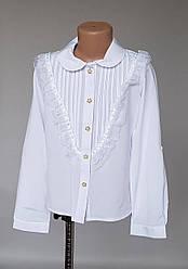 Блузка детская белого цвета