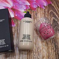 Набор тональный крем Mac studio 120 ml + спонж BeautyBlender