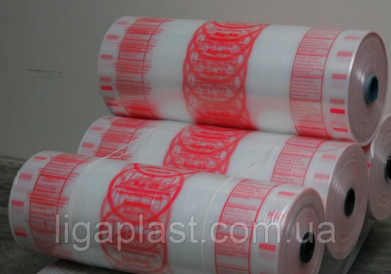 Полиэтиленовый рукав с печатью