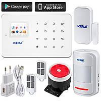Сигнализация Kerui G18 для дома ,офиса и гаража  сенсорная