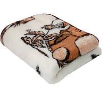 Детское одеяло из овечьей шерсти. Слоник, фото 1