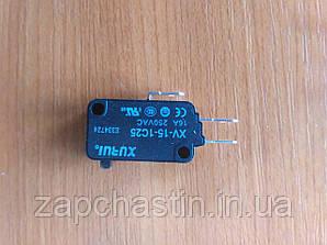 Мікровимикач (кінцевик) 15А, 3 контакта