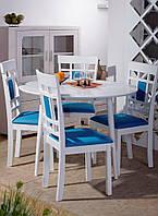 Стол Астер + 4 стула Спектр
