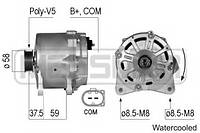 Генератор Ауди AUDI A6 (4F2, C6) RS6 quattro (2008-2010), Хитачи Hitachi 14V/190A
