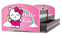 Детская кровать 160x80 LUKI