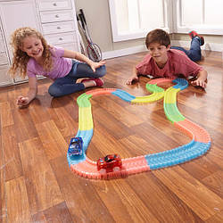 Конструктор Magic Tracks Мэджик Трек Оригинал. Светящаяся дорога, гоночная трасса.