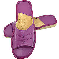 Тапочки женские летние, ШВН02. Фиолетовые, фото 1