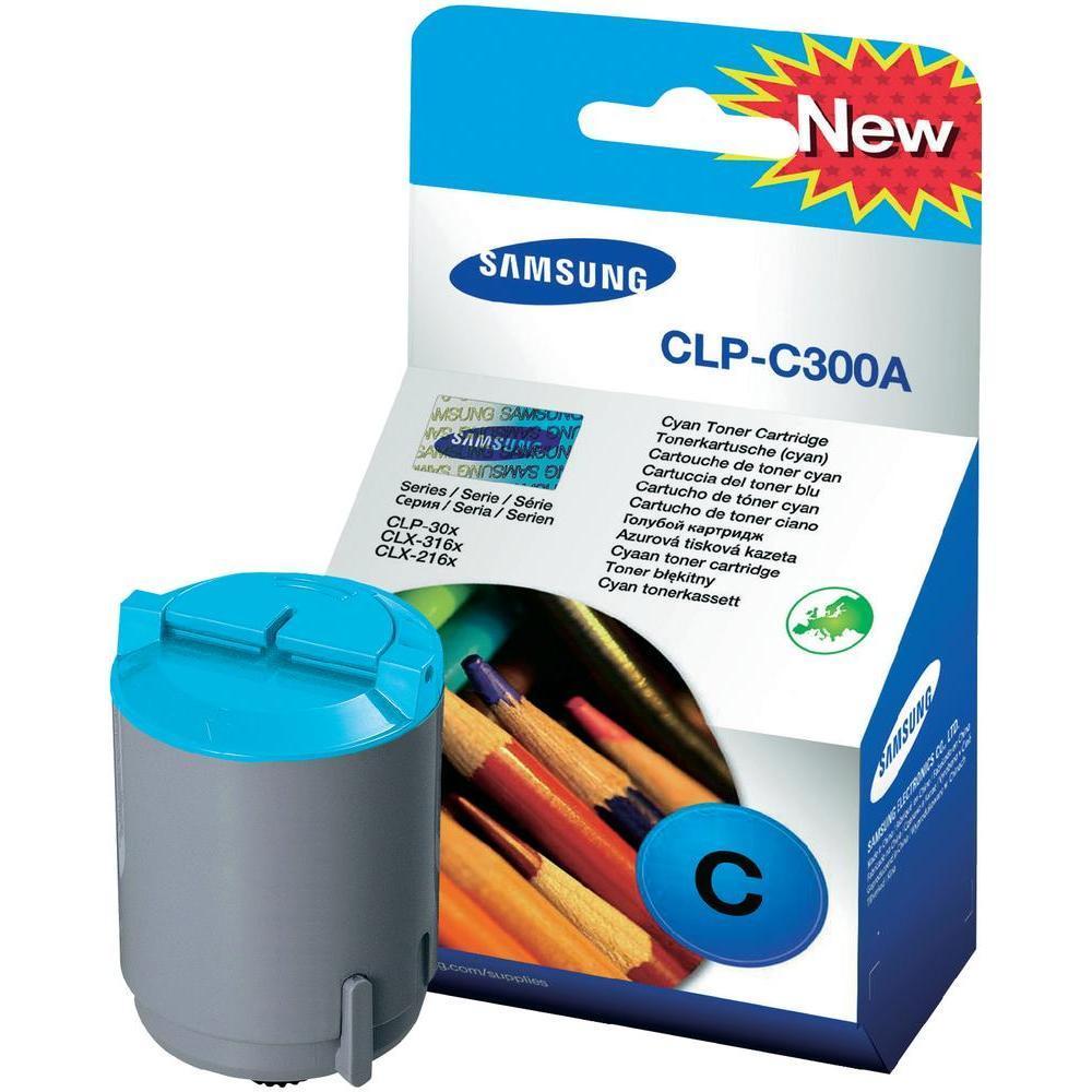 Картридж Samsung CLP-300/ 300N cyan