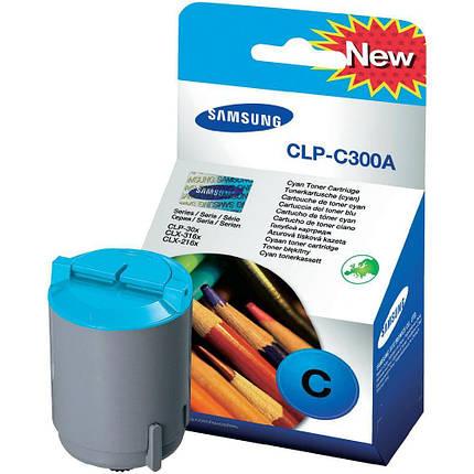 Картридж Samsung CLP-300/ 300N cyan, фото 2
