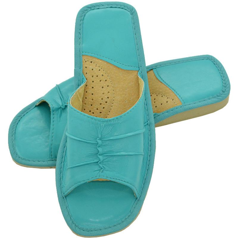 Тапочки жіночі літні, ШВН02. Блакитні