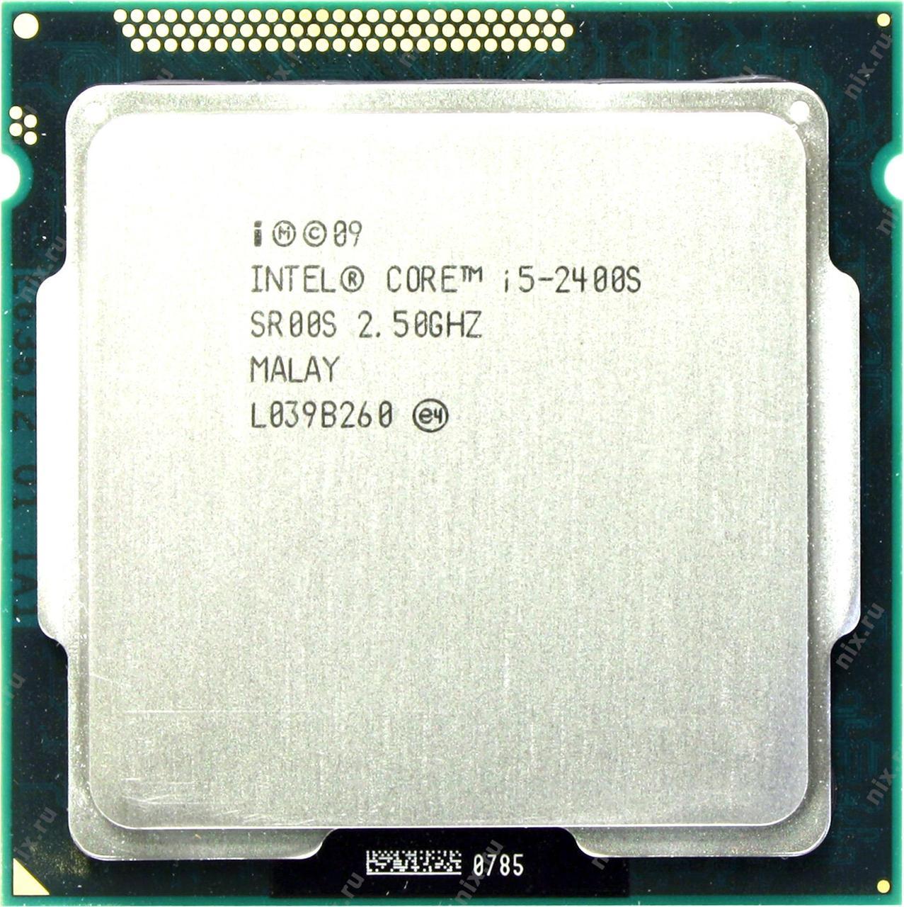 Процессор Intel Core i5 2400S 2.50GHz/6MB (BX80623I52400S) s1155 tray
