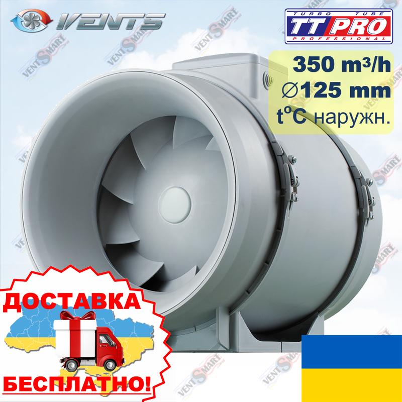 ВЕНТС ТТ ПРО 125 Ун с термодатчиком наружным (VENTS TT PRO 125 Un)
