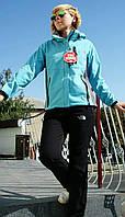 Лыжные брюки Windstopper  водоотталкивающие ветроизоляционные высокая посадка замки прорезинены