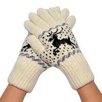 Женские зимние перчатки 04