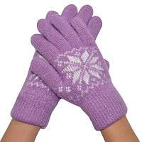 Женские зимние перчатки 05
