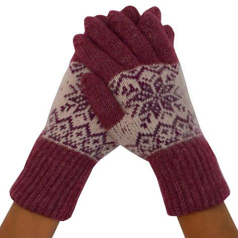 Женские перчатки, удлиненные 008, фото 2