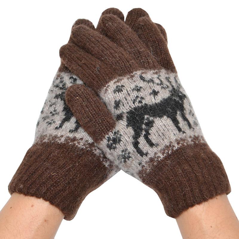 Мужские зимние перчатки 12