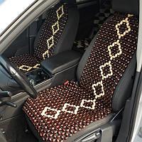 Деревянные массажные накидки для автомобиля НД 053