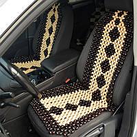 Деревянные массажные накидки для автомобиля НД 054, фото 1