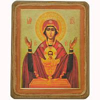 Икона Богородица Неупиваемая чаша XVIII в, фото 1