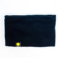 Шарф хомут (бафф) флисовый синий