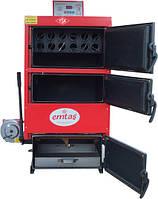 Котёл твёрдотоплевный Emtas - EK3G-100 трёхходовой (дрова/уголь) 99 кВт, фото 1