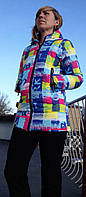 Спортивная куртка зимняя  женская  наполнитель тинсулейт