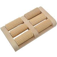 Массажер для ног, деревянный. 11, фото 1