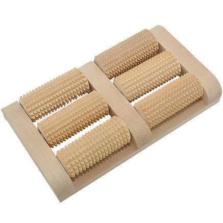 Массажер для ног, деревянный. 11, фото 2